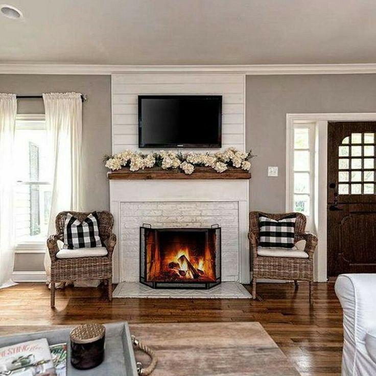 Pin By Maria Aceijas On Namora In 2021 White Brick Fireplace Home Fireplace Brick Fireplace Makeover
