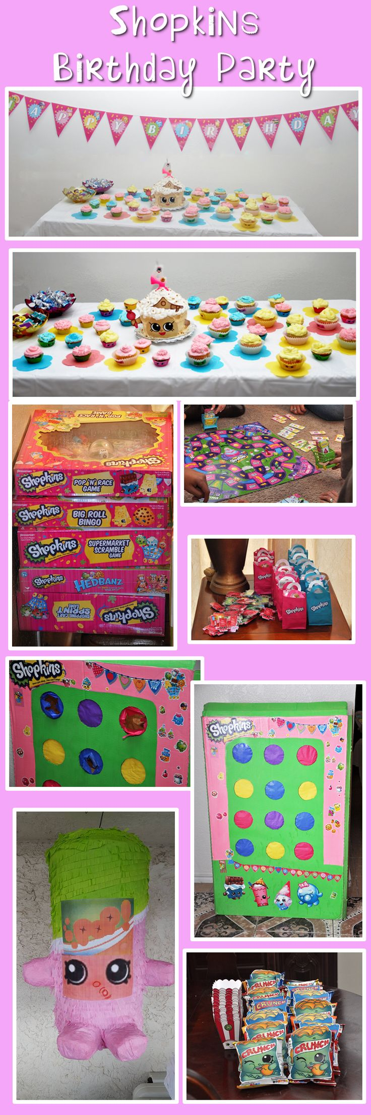 Shopkins Birthday Party -On a Budget- Ideas