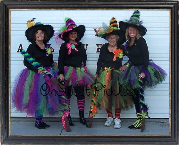 Deluxe BEWITCHED Halloween Costume ADULT Tutu by OhSweetPickles