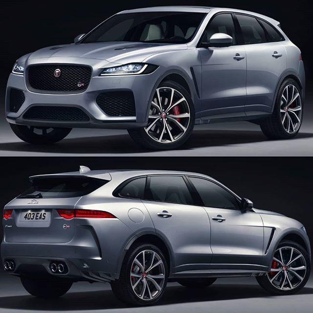 Jaguar F Pace Svr 2019 Projetado Pela Special Vehicle Operations Svo Com Um Aumento De 44 Na Potencia O Motor V8 Supercharged De 5 0 Com Imagens Carros Motor V8 Motor
