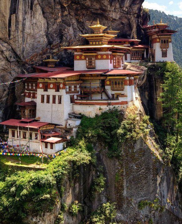 Paro Taktsang — Bhutan