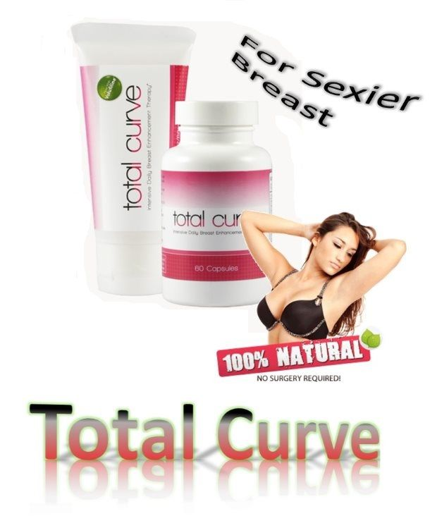 Total Curve is made of two products in only one pack, so one cream and pills to increase breasts size. Each product of this pack is specially made for you to have beautiful and big breasts. They will enable to increase your breast in a natural way.