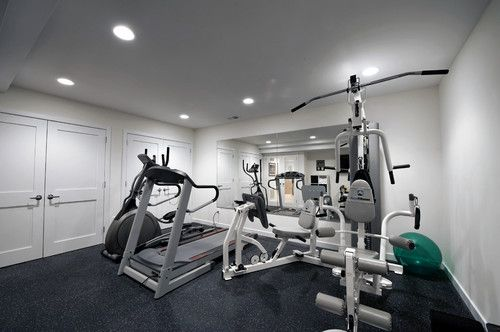 Gym Photos Basement Gym Design, Pictures, Remodel, Decor and Ideas - page 4