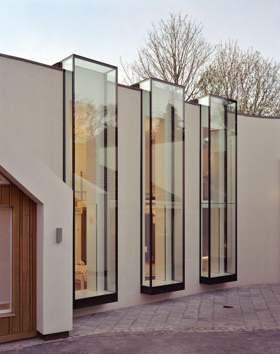 Ideia para vitrine de loja e arquitetura comercial