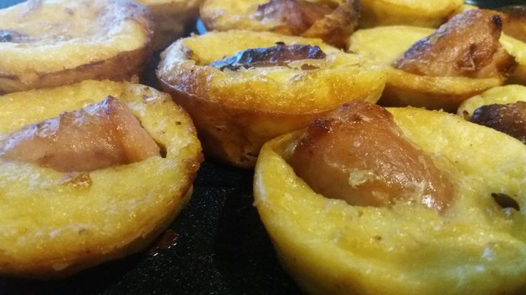 WinningRecipesBlog: Toad in the Hole - Pork Bangers or Sausages in Yorkshire Pudding Batter - Yorkshire Pudding Savory Muffins with Homemade Gravy - Serve with Veg of choice