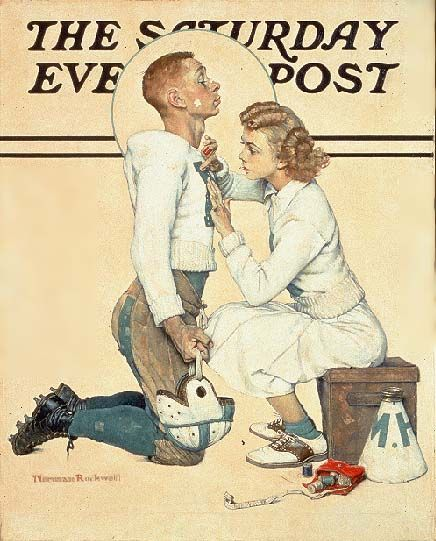 Norman Rockwell - one of the great artists of our time - and one of the great magazines.