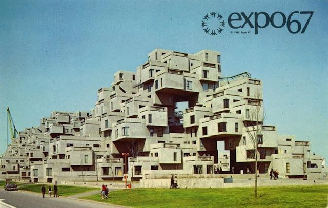 Habitat 67, Montréal by Moshe Safdie
