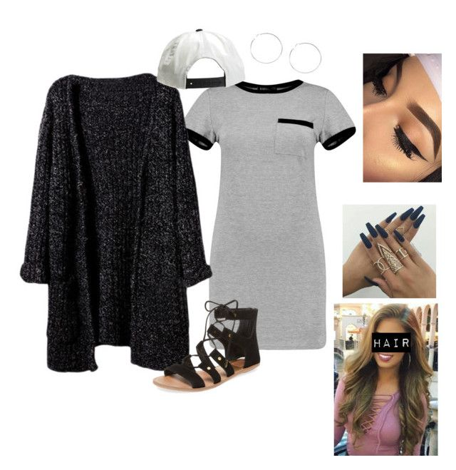 Untitled #485 by bennysgirl on Polyvore featuring polyvore fashion style Boohoo Dolce Vita Brixton clothing