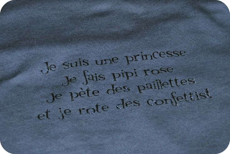 Je suis une princesse je fais pipi rose je pète des paillettes et je rote des conféttis