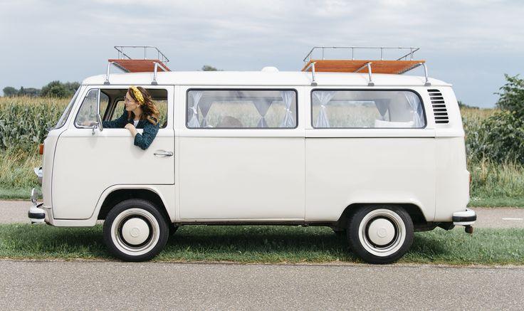 Volkswagen roadtrip VWT2 Sandy van DeVolkswagenbus.nl   Foto van: Kelly Nederlof