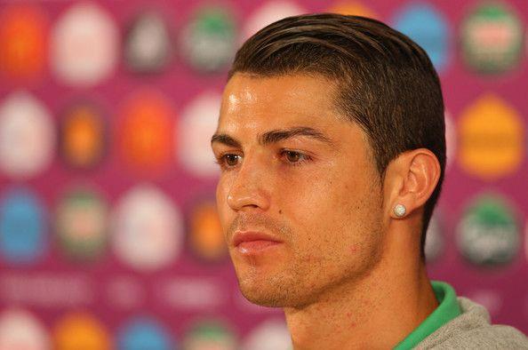 Cristiano Ronaldo Photos Photos Portugal Training And Press Conference Group B Uefa Euro 2012 In 2020 Cristiano Ronaldo Hairstyle Ronaldo Hair Ronaldo Haircut