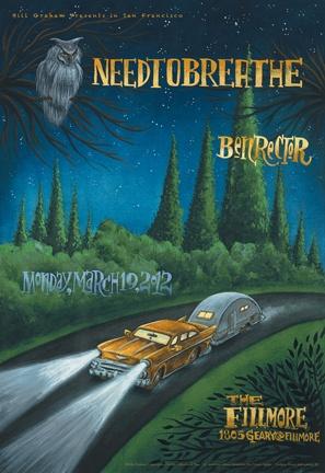 Needtobreathe with Ben Rector - March 19th, 2012 @ The Fillmore