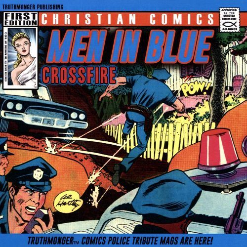 Men in Blue/Crossfire Police Tribute Album [CD]