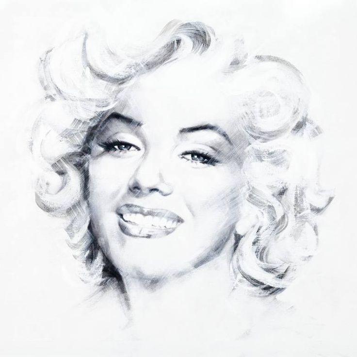 "Saatchi Art Artist Jean Pierre Rousselet; Painting, ""Marilyn One"" #art"