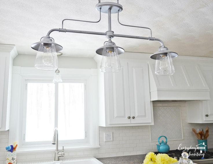 diy island light | ... this kitchen was actually the quickest and easiest part- the island