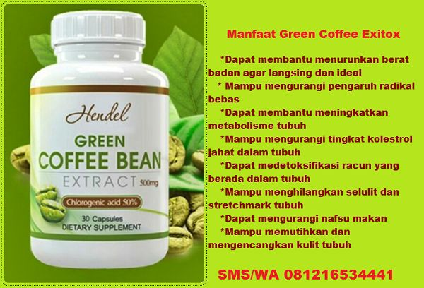 exitox green coffee