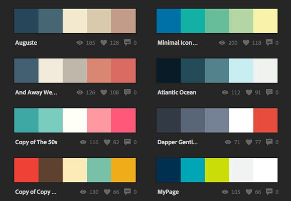 Capture cores, crie temas e inove sua paleta de um jeito fácil! Já ouviu falar no aplicativo Kuler? Ele permite criar diversos temas de cores inspiradores, além de poder explorar outros diversos temas de cores criadas por outros usuários. Você pode usá-lo direto pelo siteou peloaplicativo para iPhone. No app você capturar temas de cores …