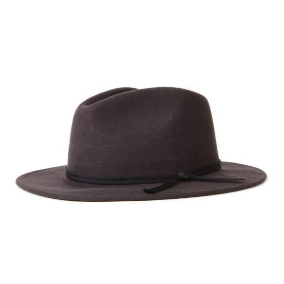 682b67123 COLEMAN FEDORA | WASHED-BLACK | Men Ferdoras in 2019 | Hats for men ...