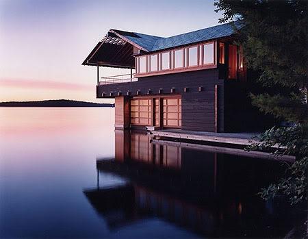 Lake Couchichingm Boat House