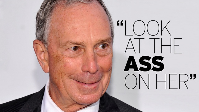 'I'd Do Her': A Brief History of Michael Bloomberg's Public Sexism
