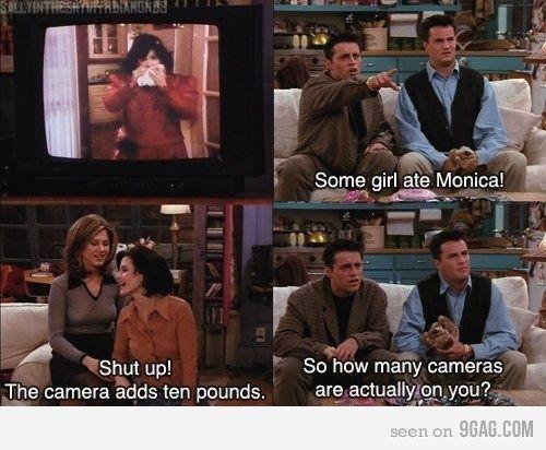 Friends <3: Fatmonica, Hilarious Memes, Friends Tv, Fat Monica, Tv Show Quotes, Funny Stuff, Funny Friends, Funny Memes, Friends Quotes