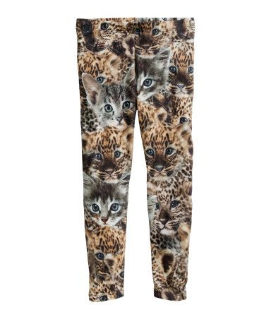 Girls' Cat Leggings | H&M US | H&M US