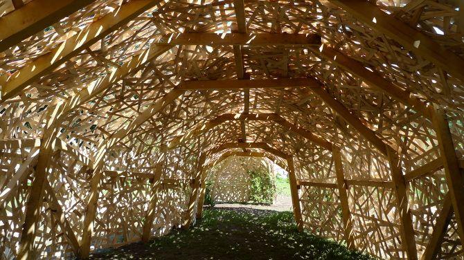 Cabane tea time by LAPS - Jardins de Wesserling, Alsace