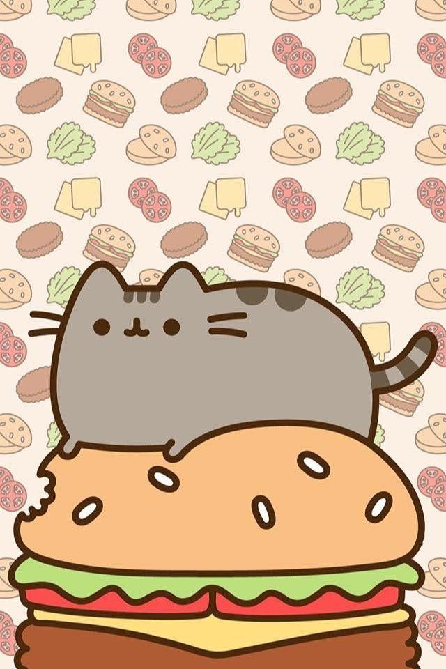 Pin By Glenna Felty On Pusheen Kawaii Wallpaper Wallpaper Iphone Cute Cute Wallpapers