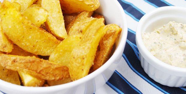 Patatas deluxe con salsa barbacoa - Recetas