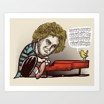 Play it by ear Art Print by Alvaro Arteaga