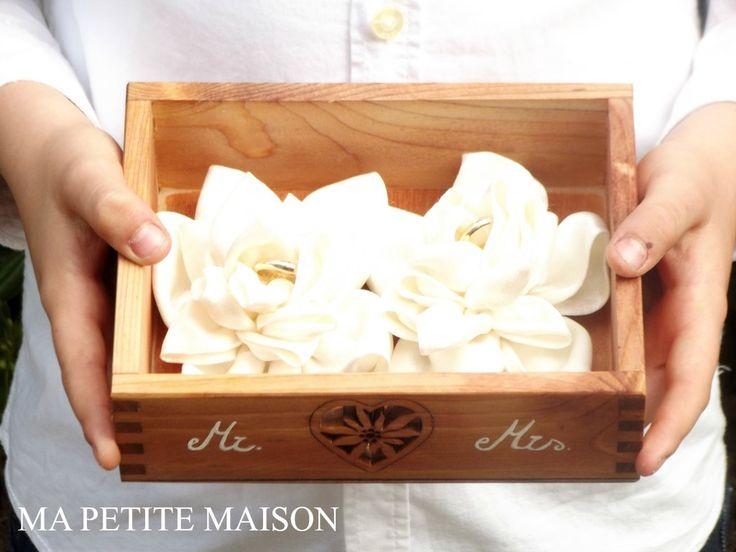 Ma Petite Maison: DIY Ring Bearer Box