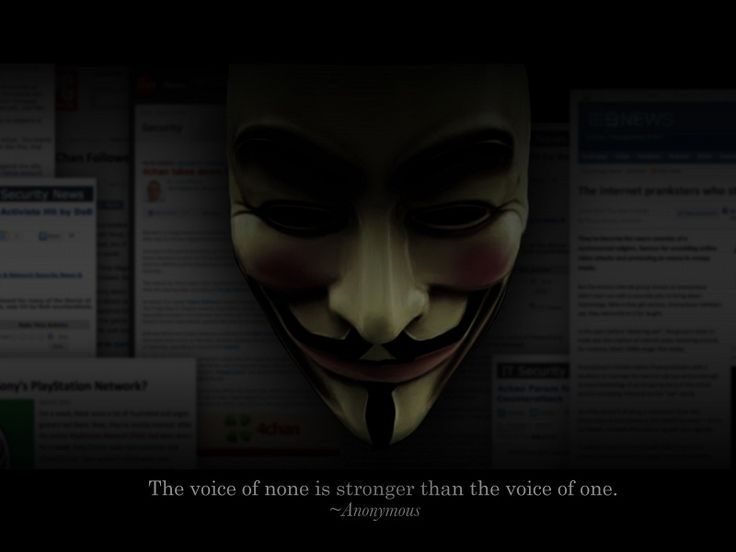 Anonymous Mask Quote xHD Wallpaper on MobDecor...http://www.mobdecor.com/b2b/wallpaper/221657-anonymous-mask-quote