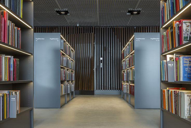 Dokk1 - Urban Media Space. Door by Vahle A/S