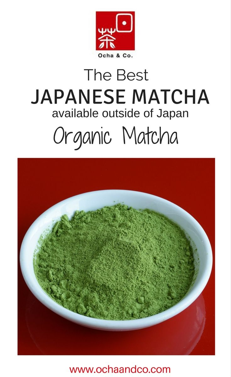 Are you drinking green tea for its health benefits? This one comes from an award winning organic plantation in Japan.. Ordered weekly in small batches to keep it fresh as possible. Organic = Chemical Free. Check us out!