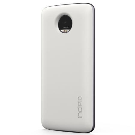 Motorola Cover Battery Incipio offGRID White(ASMESPRWHTEU)  — 3990 руб. —  Цвет: белый, Индикация заряда аккумулятора: Да, Габаритные размеры (В*Ш*Г): 153*74*6 мм, Важная особенность: возможность беспроводной подзарядки, Удачное решение: прикрепляется встроенными магнитами, Емкость аккумулятора: 2200 мАч, Обратите внимание: увеличивает работу до 22 часов, Время зарядки аккумулятора: до 1 часа, Тип товара: доп. модуль для смартфона, Совместимость: Motorola MOTO Z / MOTO Z Play, Страна: КНР…