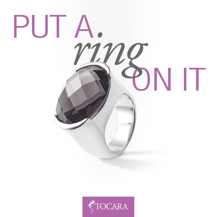 Put a ring on it ... Like and repin if you would want to wear it!