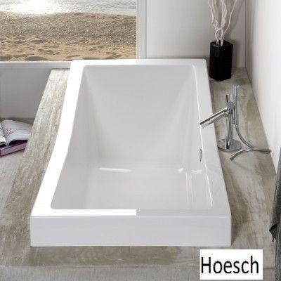 Hoesch Foster Rechteck Badewanne  190 x 90 cm 6697 001