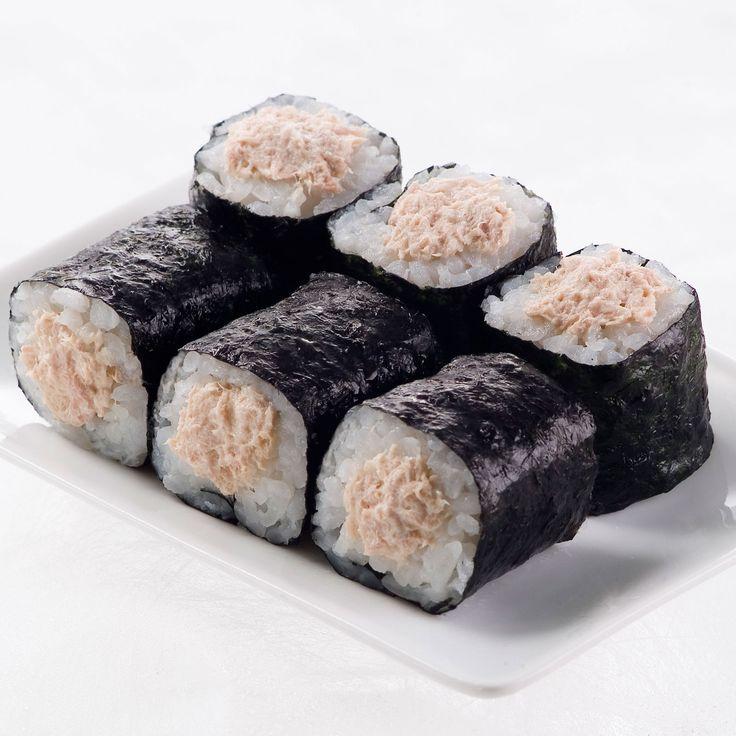 Découvrez la recette Makis de thon en boîte et mayonnaise sur cuisineactuelle.fr.