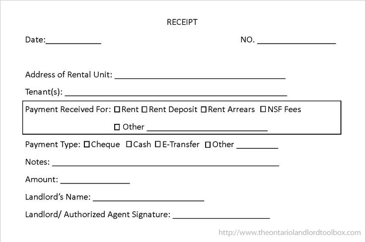 Rent Receipts: Your Obligations as a Landlord
