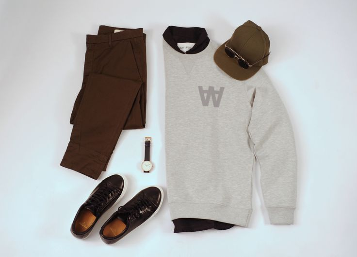 Shirt: Our Legacy Jumper: Wood wood Trousers: HOPE Stockholm Sneakers: Royal Republiq Watch: Horse Sunglasses: Kaibosh Cap: Private