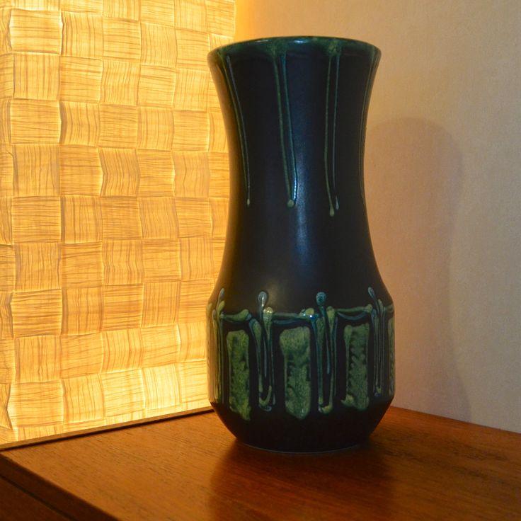Hungary Vase European  - Pottery - ceramics - mid centery