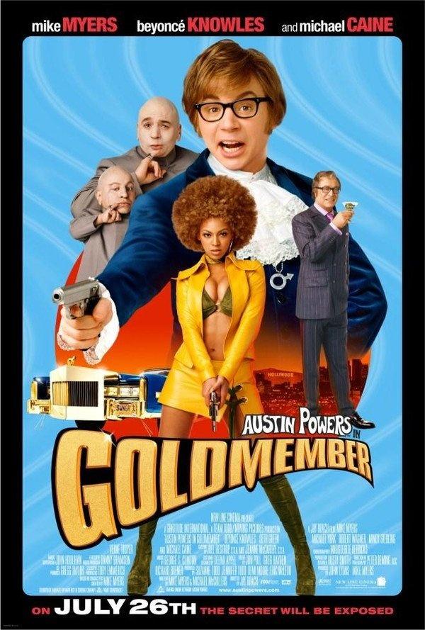 Austin Powers em o Homem do Membro de Ouro (Austin Powers in Goldmember), 2002.