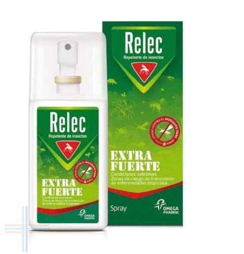 #RelecExtraFuerte es un repelente de mosquitos que aporta una protección en la piel para evitar las picaduras de mosquitos en zonas con climas tropicales. http://farmaciatecuida.com/relec-extra-fuerte-50-spray-repelente-75-ml.html