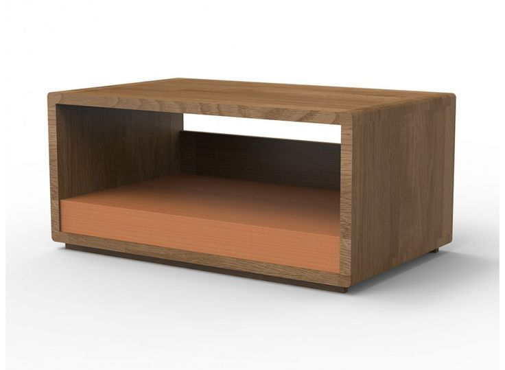 Vereesa  Luxury Bed From Massive Oak For Your Dog