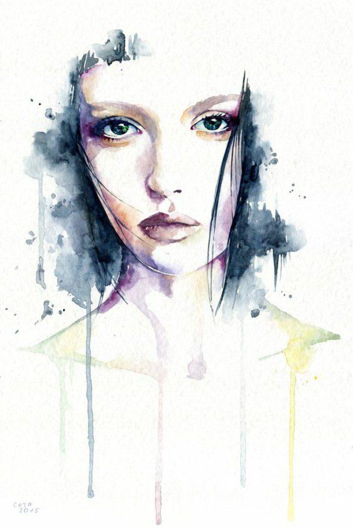 1001 Ideen Fur Madchen Zeichnen Zur Inspiration Dessin