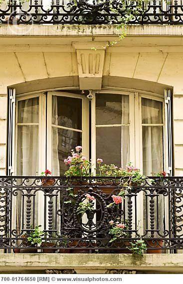 Paris balcony: Balconies Windows Doors, Paris Balcony, Idea, Beautiful Balconies, Paris Apartments, Paris France, Architecture