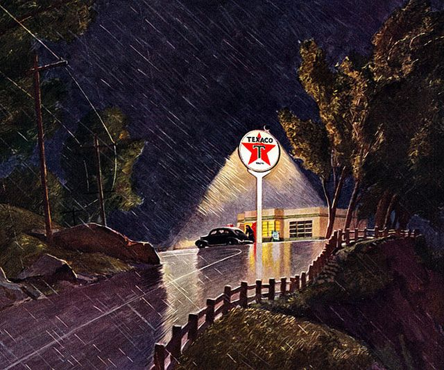 Texaco, 1941    Peter Helck  (1893-1988)
