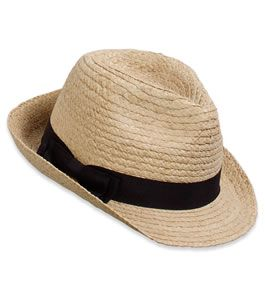 Panama hat to cover from the sun!