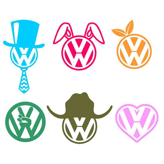 Vinyl Decal - VW Logo, Decal, Laptop, Cell Phone, Window, Mirror, Top Hat, Easter Bunny, Peach, Peace, Cowboy Hat, Heart, Volkswagen custom Will be black! Unless specified in check out. Image size is based on longest side. This is for vinyl image only. Merchandise (if shown) is not included. This vinyl is not reposition-able. It will be ruined if you remove it. All items can be personalized for an extra fee.