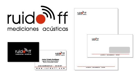 Imagen Corporativa | RUIDOFF soluciones acústicasSoluciones Acústica, Experments Menta Creativos, Corporate Images, Ruidoff Soluciones, Experimenta Creativos